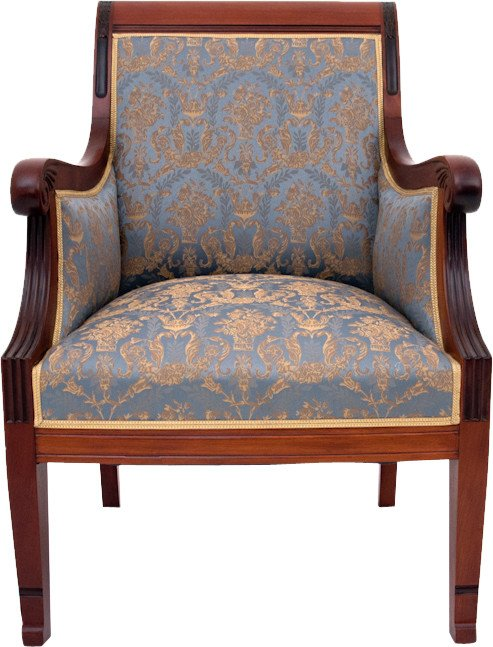Armchair, end of 19th C.
