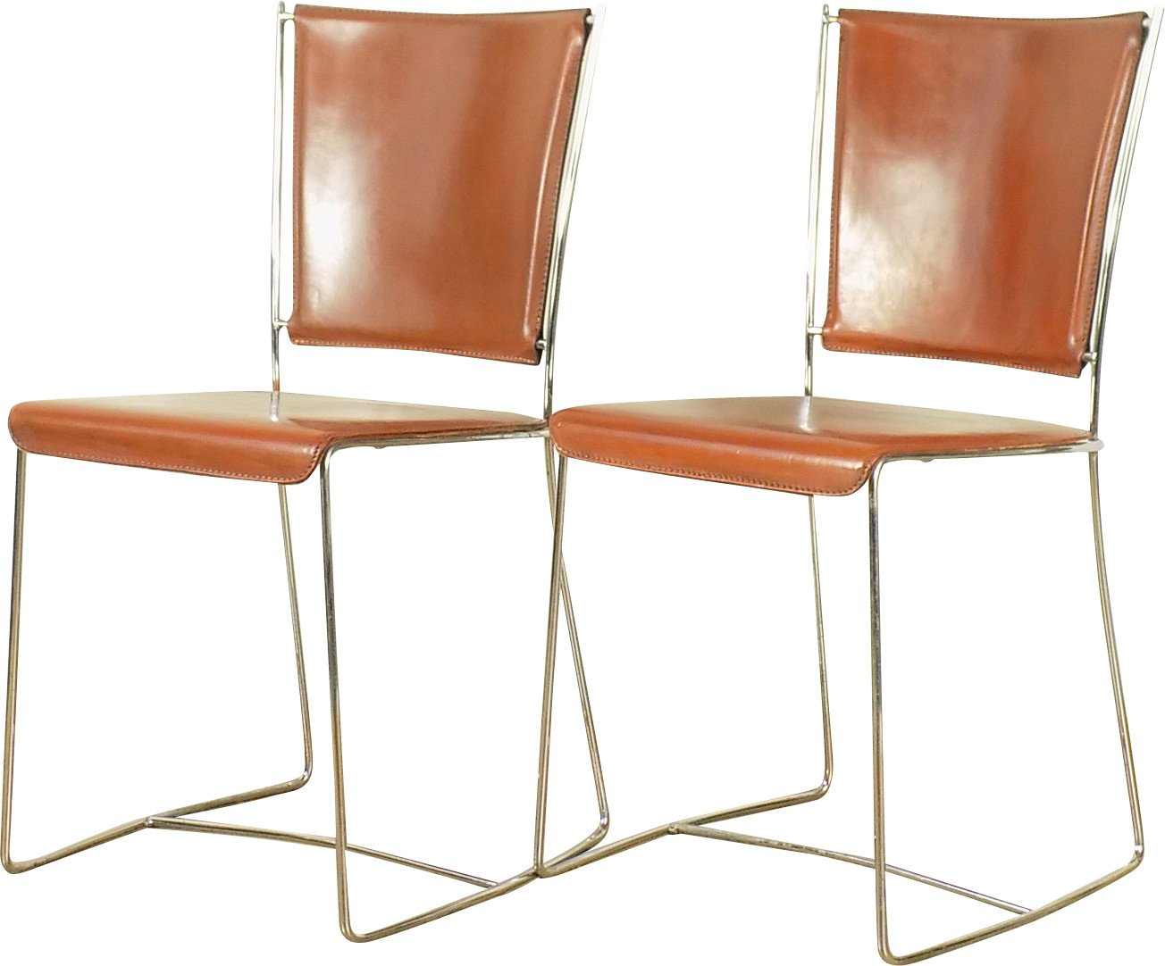 Pair of Chairs, Italy, 1970s