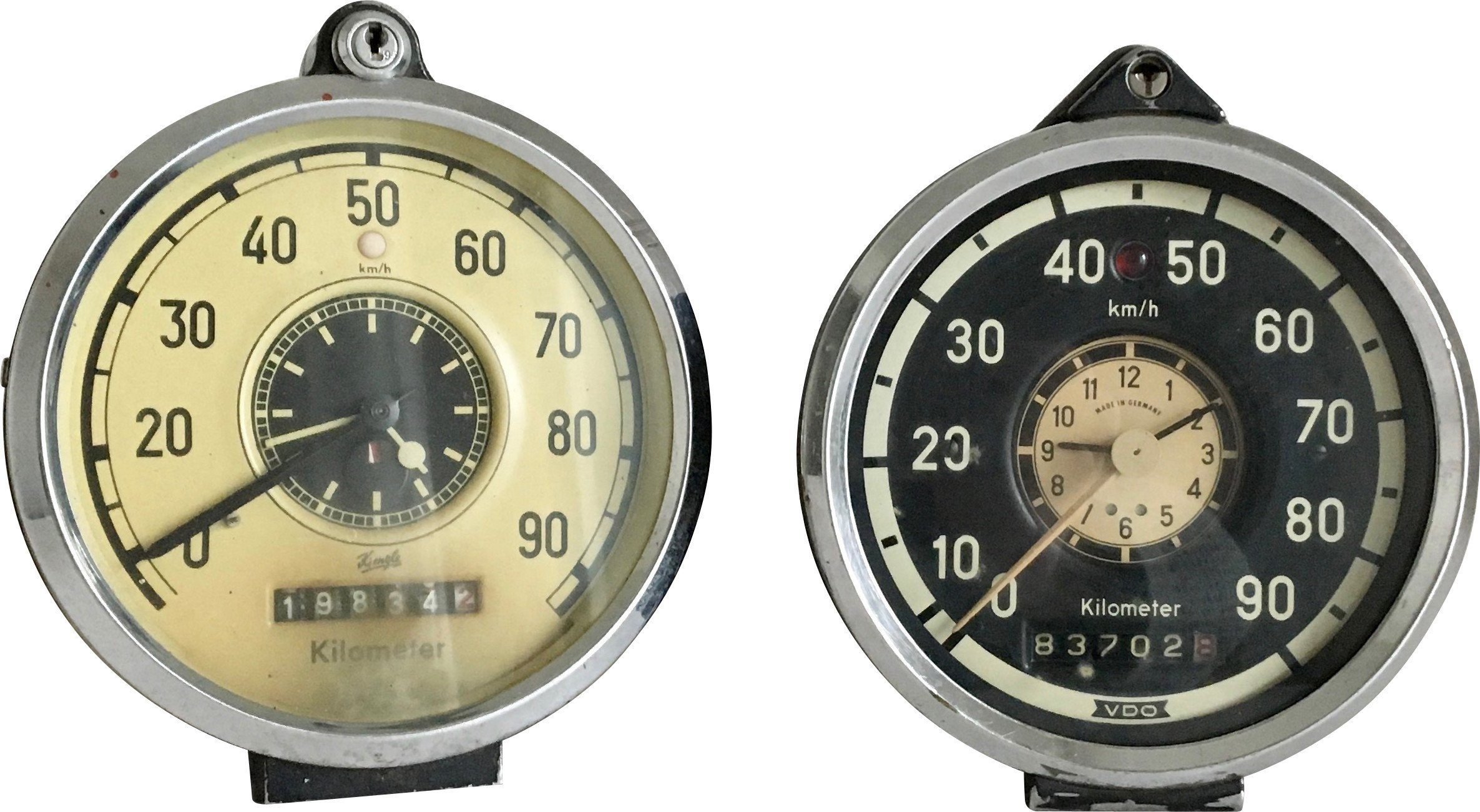 Pair of Speed Counters, Austria, 1958