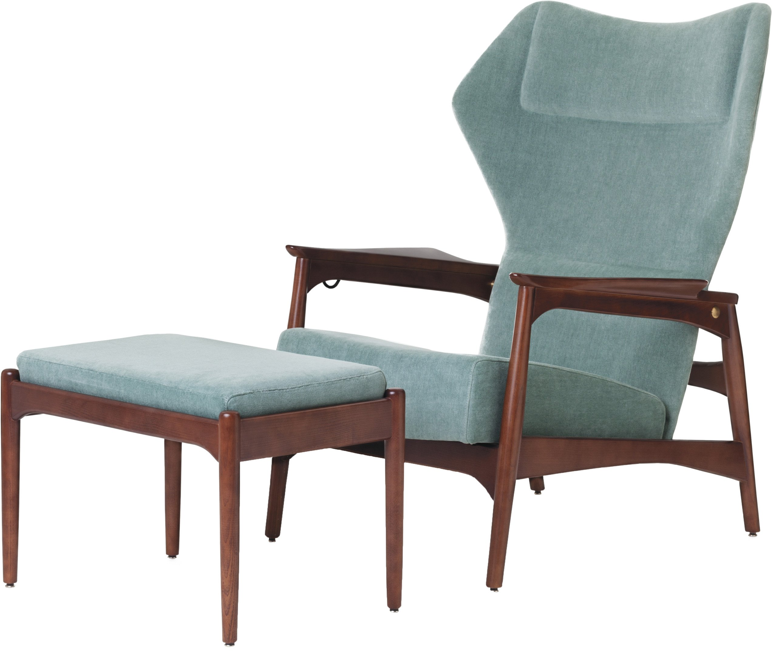 Capri Armchair with Footstool, Olaio