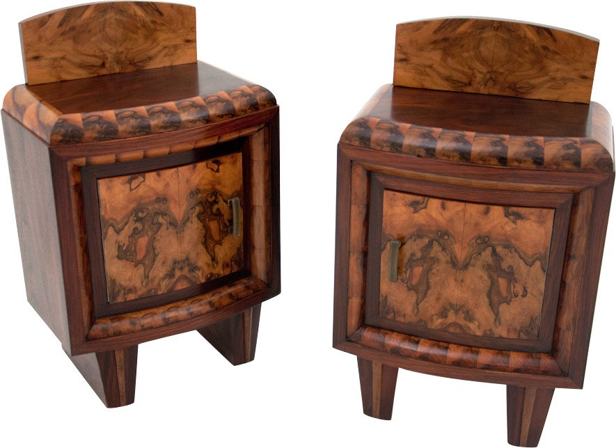 Pair of Nightstands, 1930s