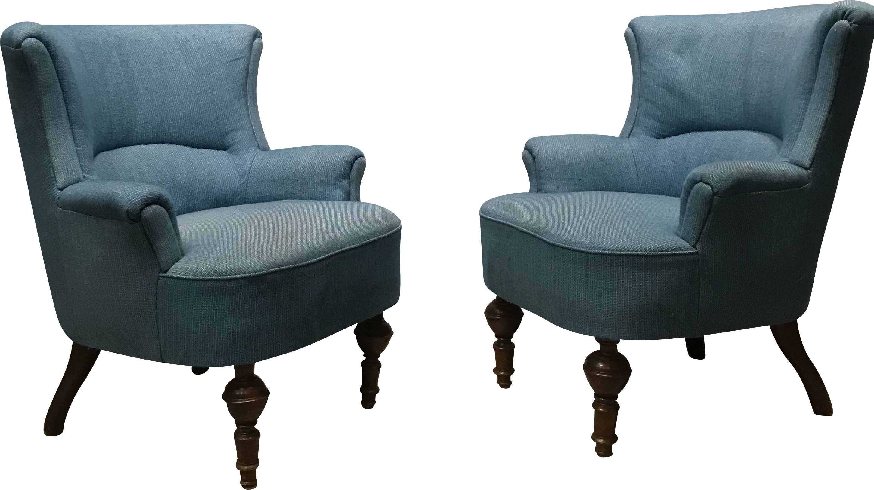 Pair of Armchairs, Sweden, 1920s