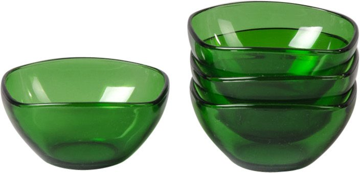 Set of Four Bowls, Vereco, France, 1960s
