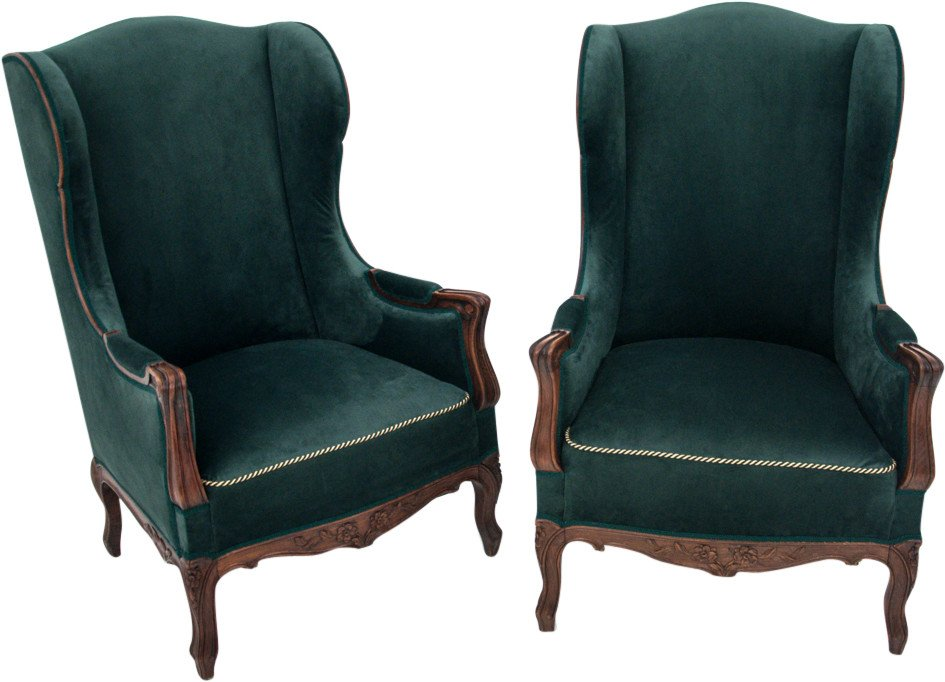 Pair of Armchairs, around 1920