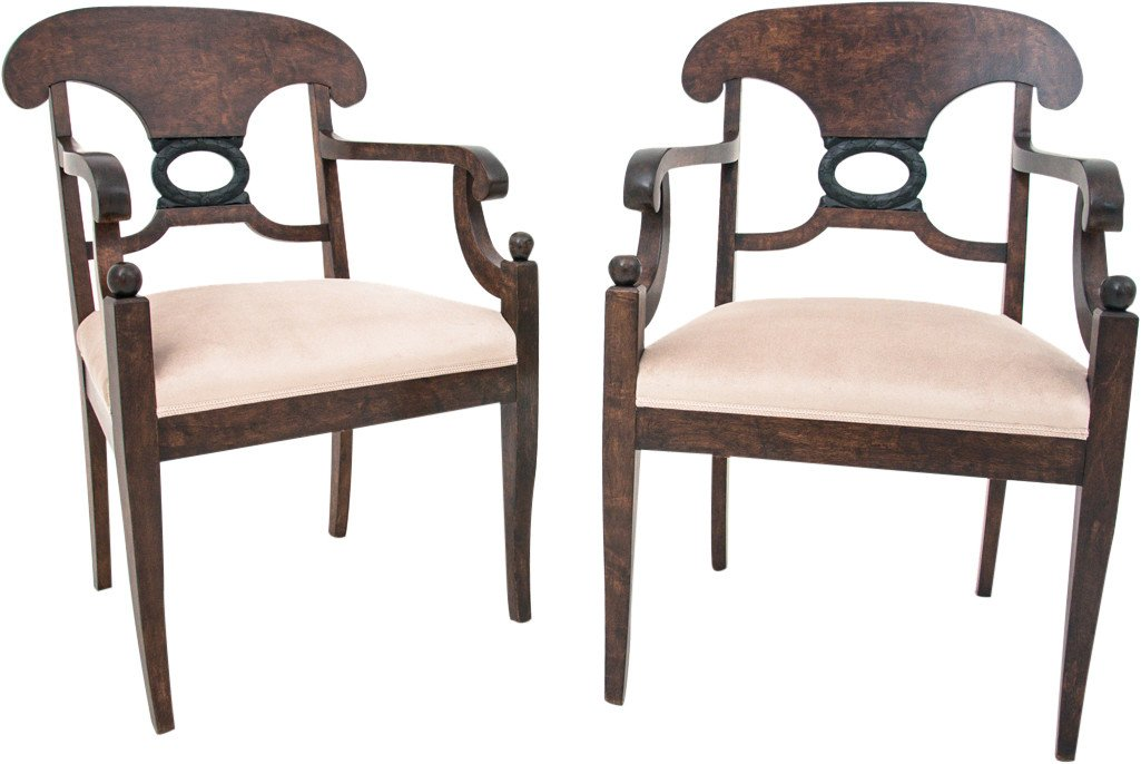 Pair of Chairs, early 20th C.