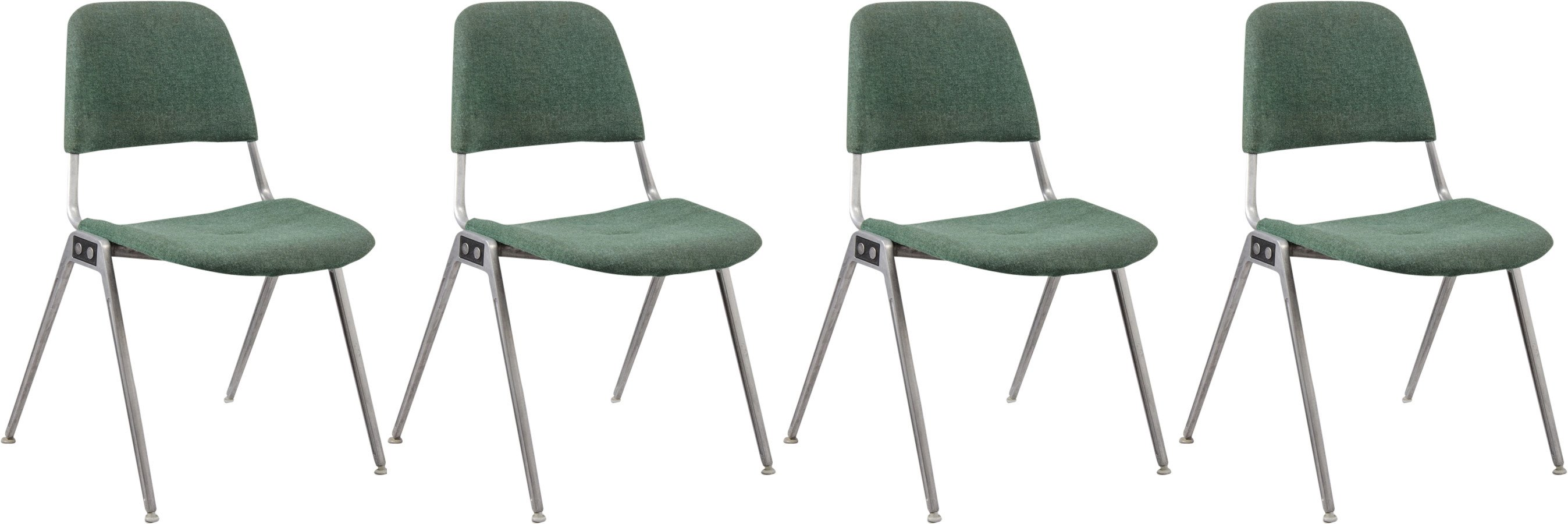 Set of Four Chairs by Don Albinsona, Knoll, 1970s
