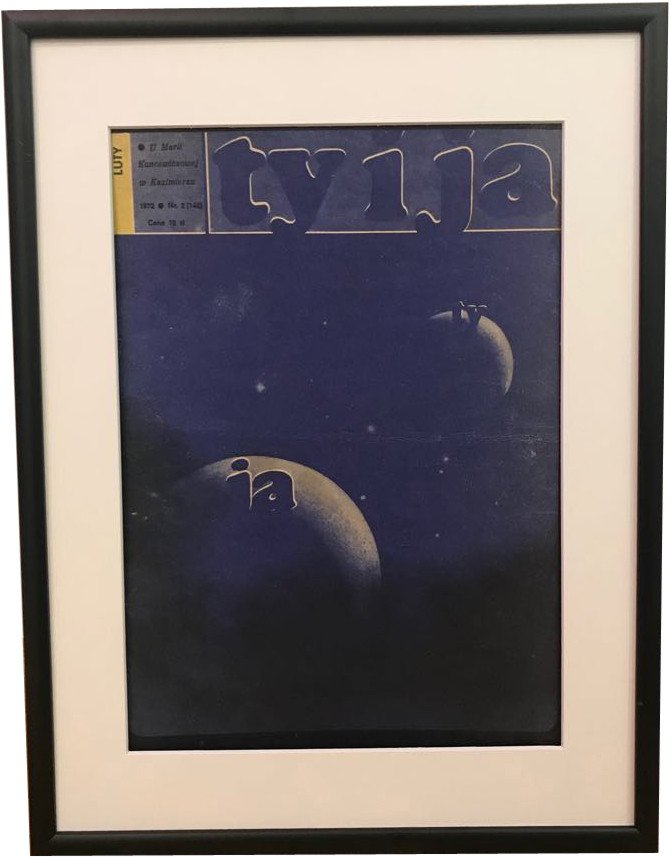 Framed Cover of Polish Magazine Ty i Ja, 1972