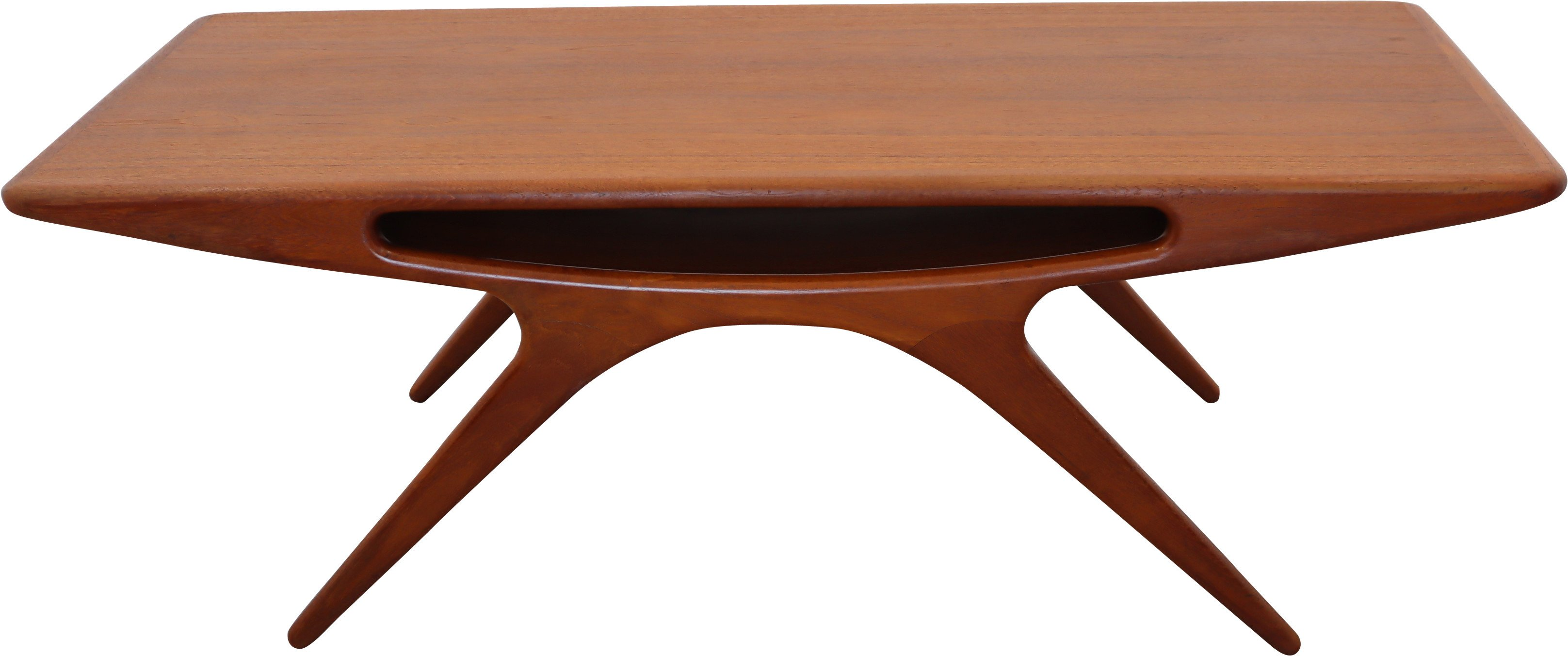 Coffee Table by J. Andersen, CFC Silkeborg, lata 60.