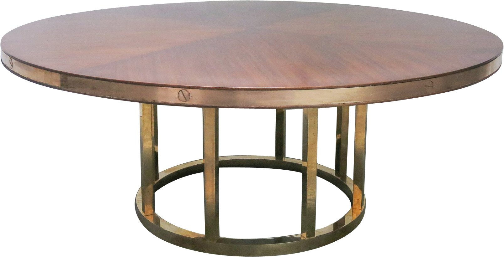Round Dining Table, Italy, 1970s