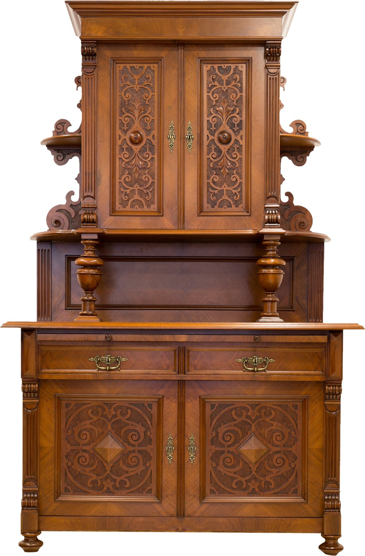 Cupboard, Germany, 2nd half of 19th C.