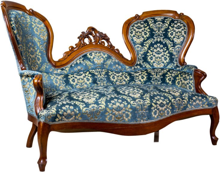 Sofa, end of 19th C.