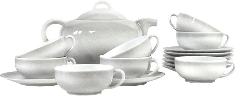 Tea Service by Camille Tharaud, Limoges, France, 1937