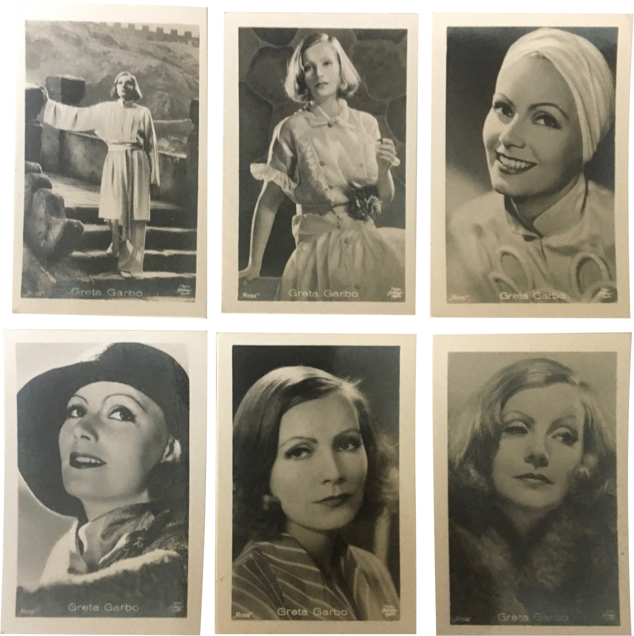 Collector's Cards with Actors, Germany, 1930s