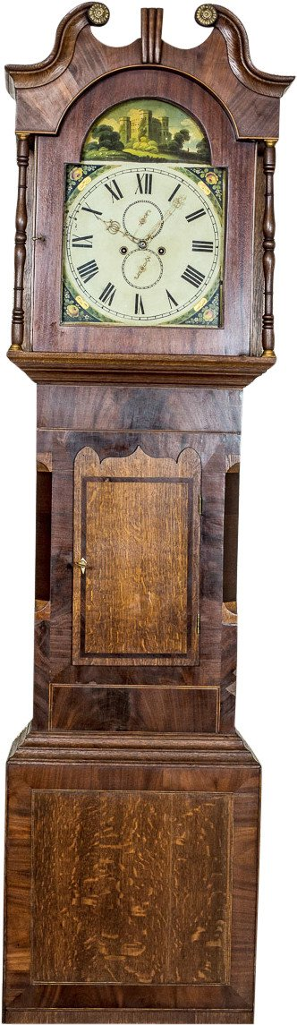 Grandfather Clock, England, first half of 19th C.