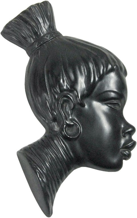 Decorative Head, Jema, Netherlands, 1950s