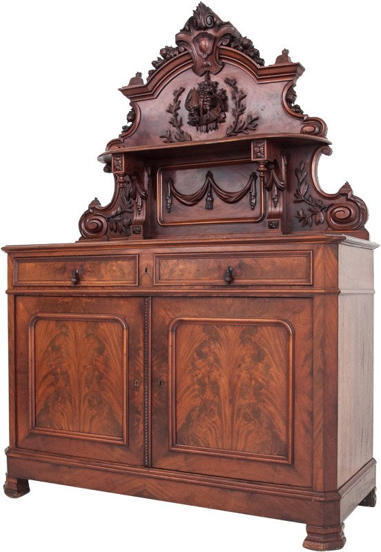 Cabinet, 2nd half of 19th C.