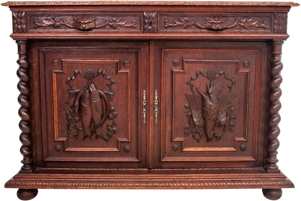 Oak Cabinet, France, late 19th C.