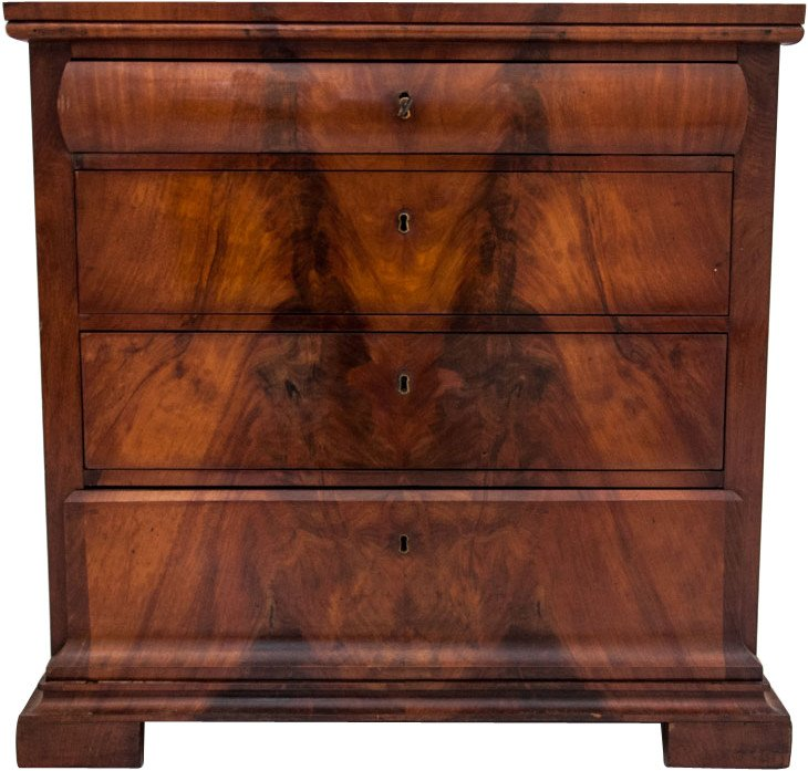 Mahogany Chest of Drawers, 19th C.