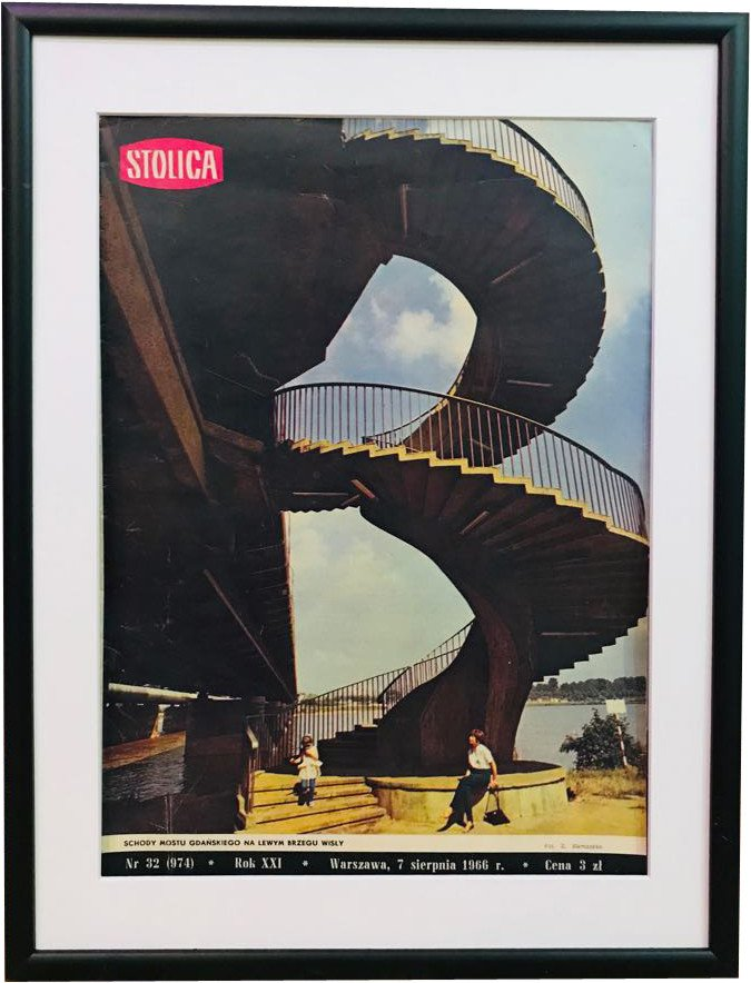Cover of the Polish Magazine, 1966