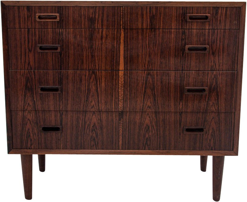 Rosewood Chest of Drawers, Denmark, 1960s.