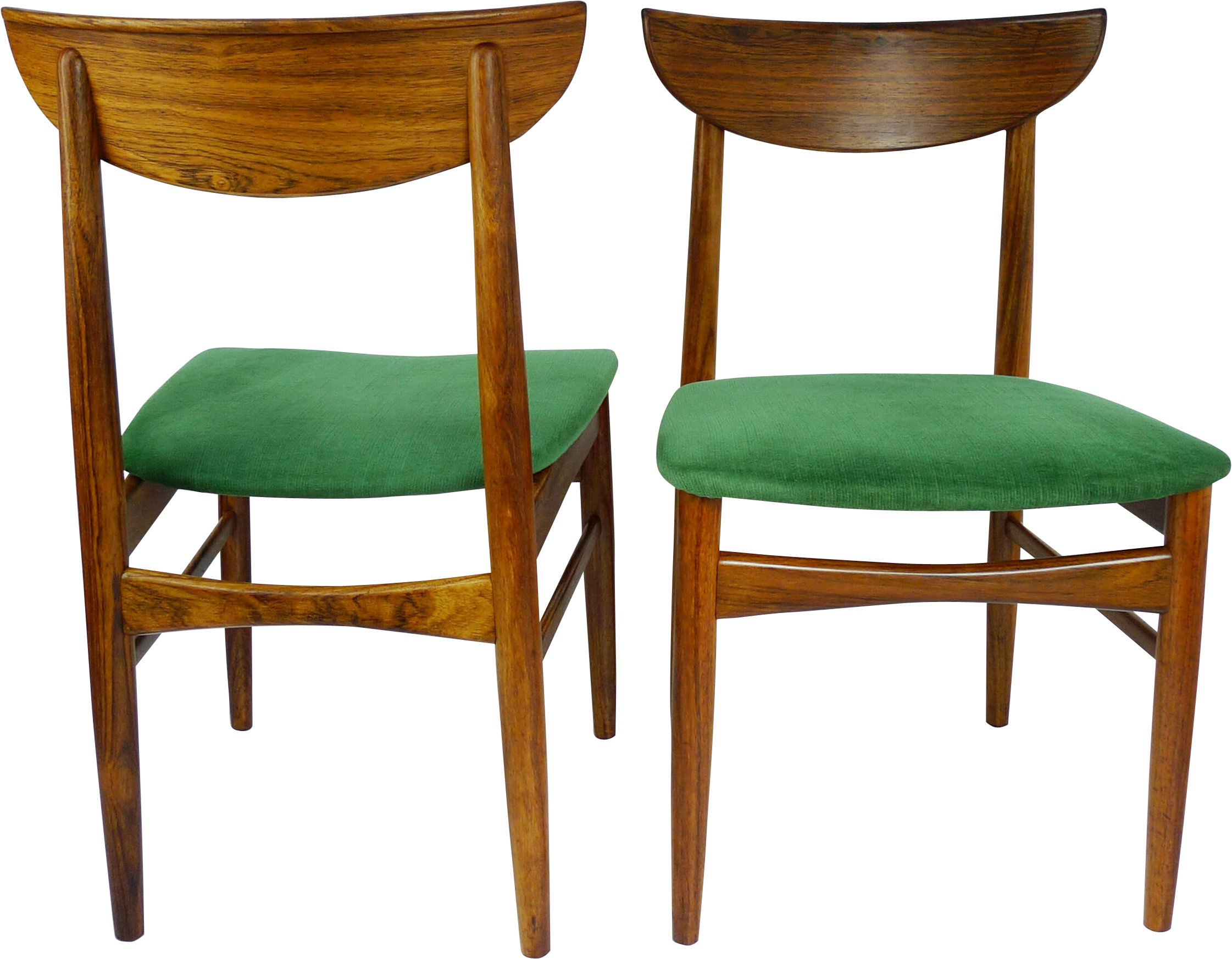 Pair of Chairs, Dyrlund, Denmark, 1960s