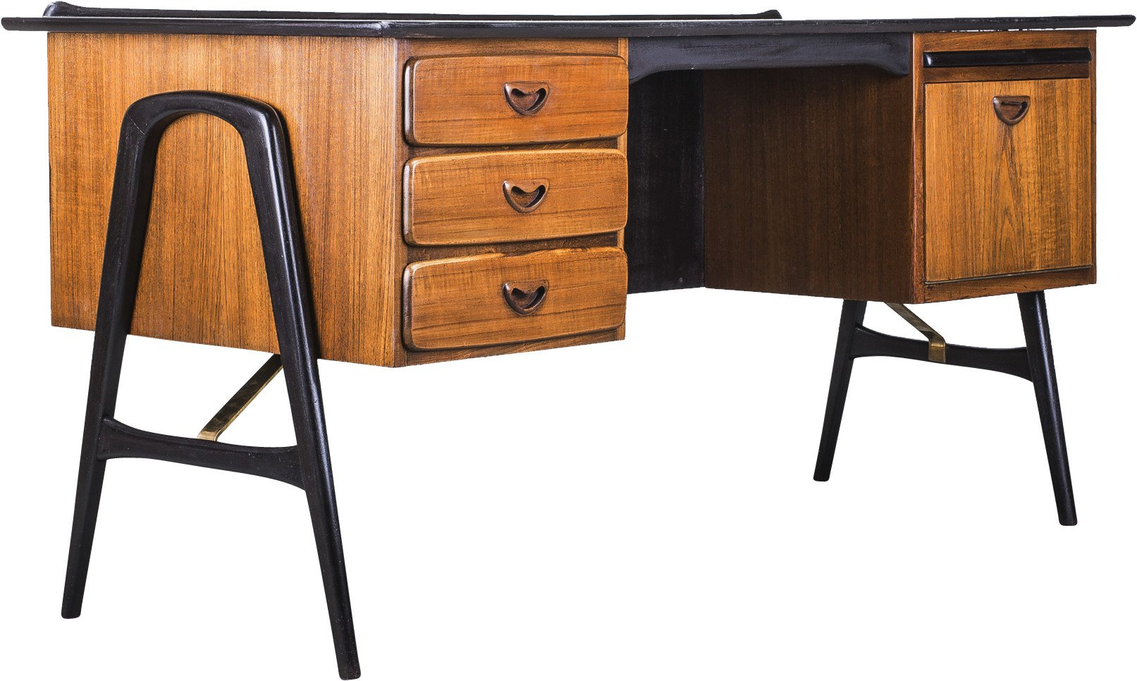 Desk by L. Van Teeffelen, Wébé, Holland, 1960s