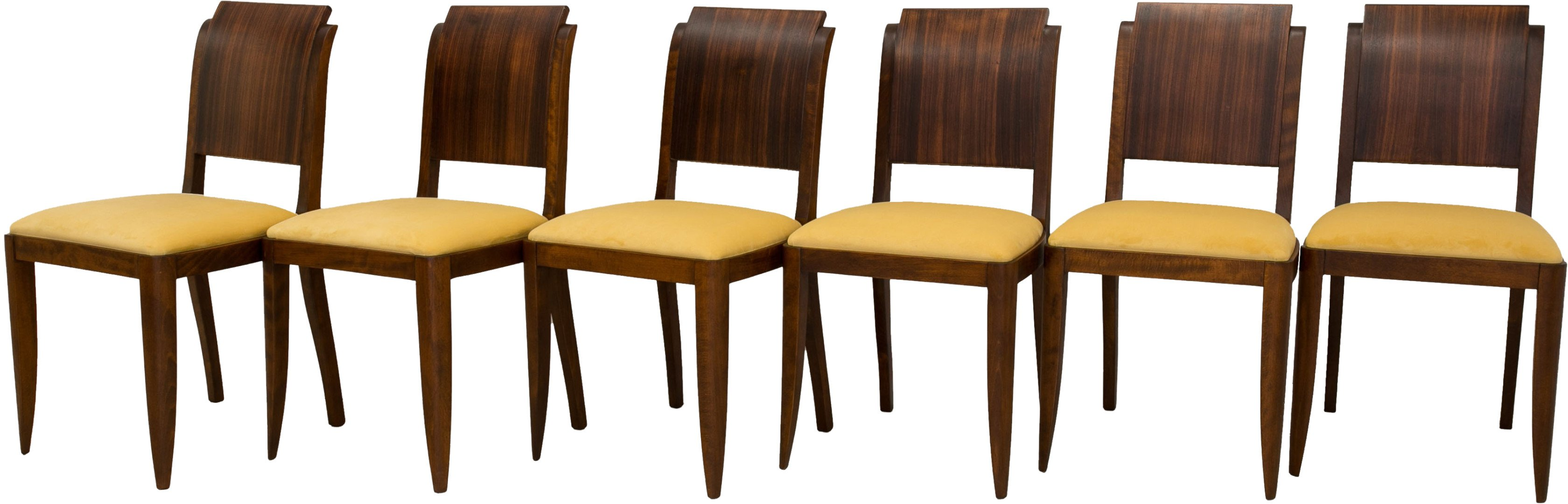 Set of Six Chairs, France, 1960s