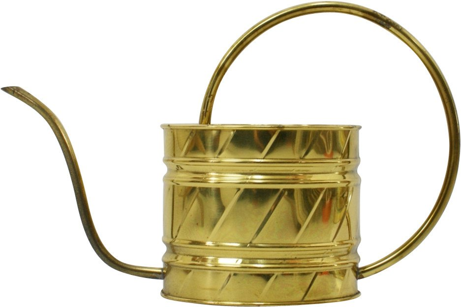 Brass Watering Can, Gilde Handwerk, Netherlands, 1970s