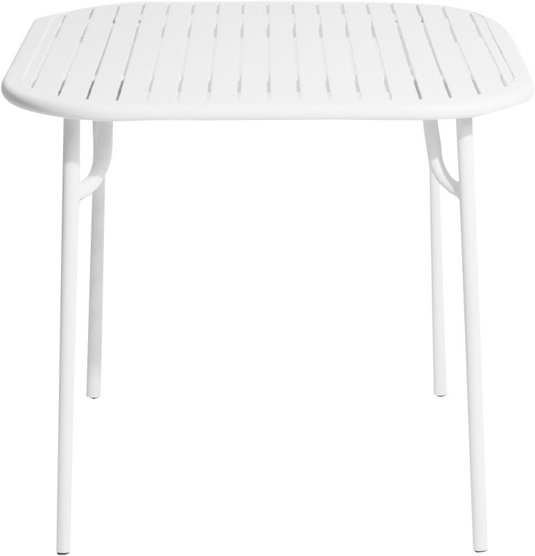 White Week-end Square Table by Brichet-Ziegler for Petite Friture