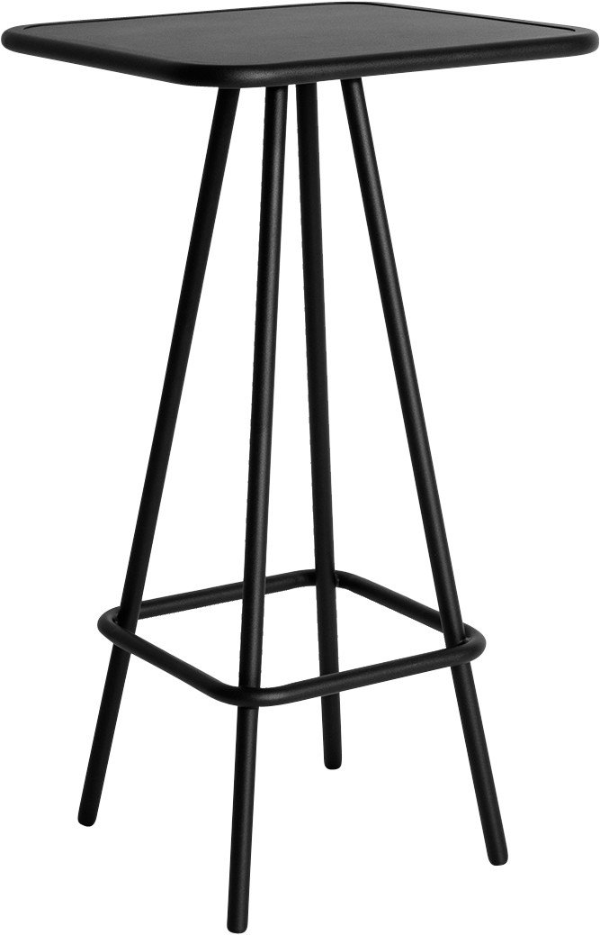 Black Week-end High Bar Table by Brichet-Ziegler for Petite Friture