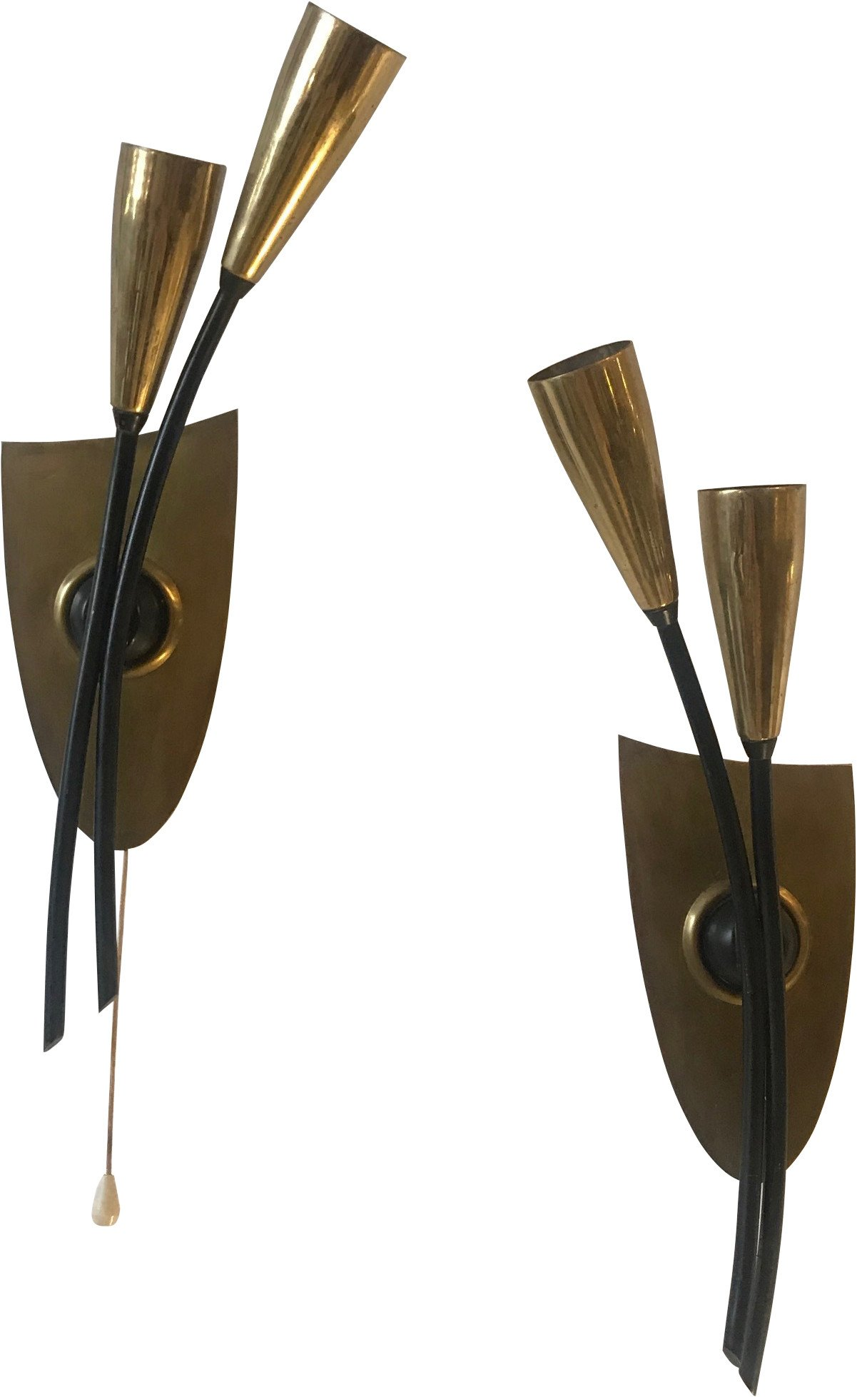Pair of Sconces, 1950s