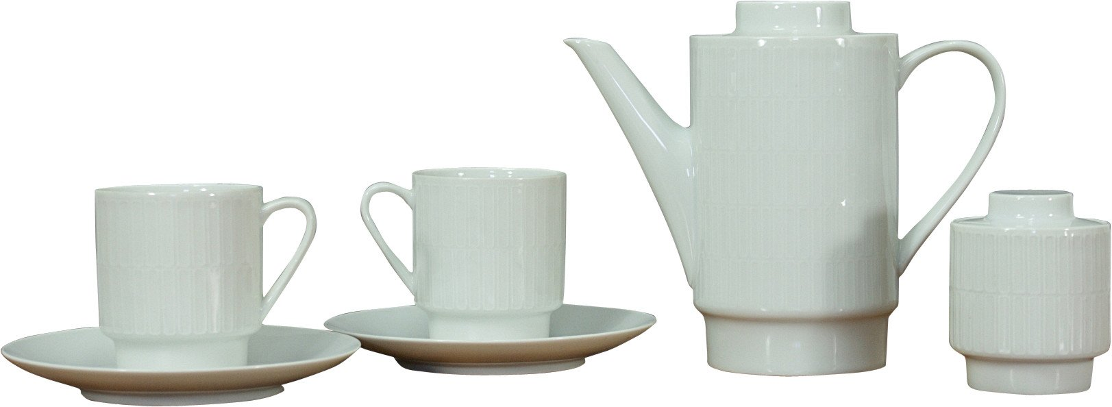 Porcelain Service by L. Kantner for Melitta, Germany, 1960s