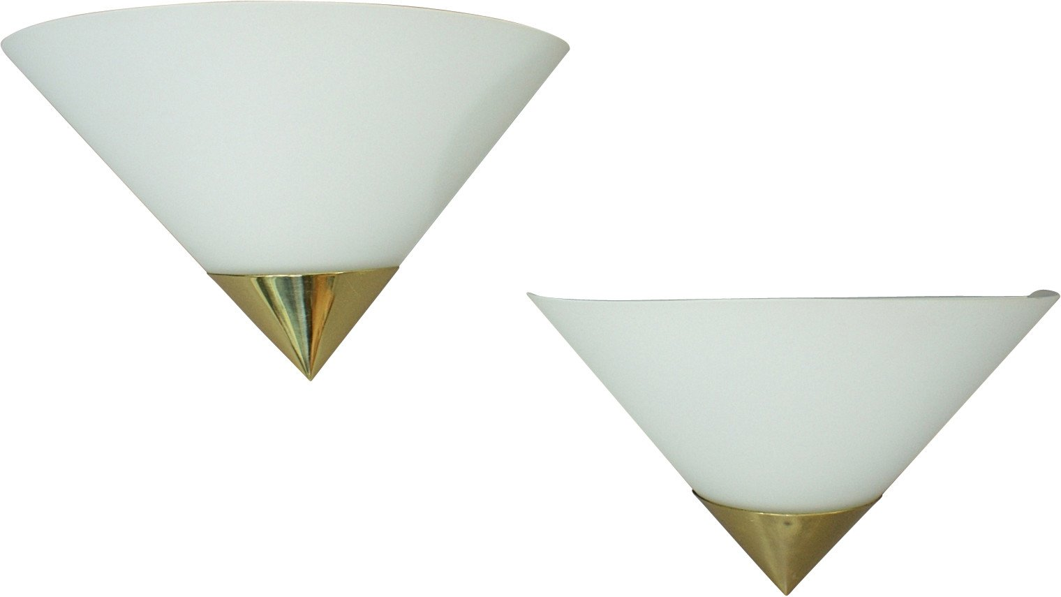 Pair Sconces, Glashutte Limburg, Germany, 1970s