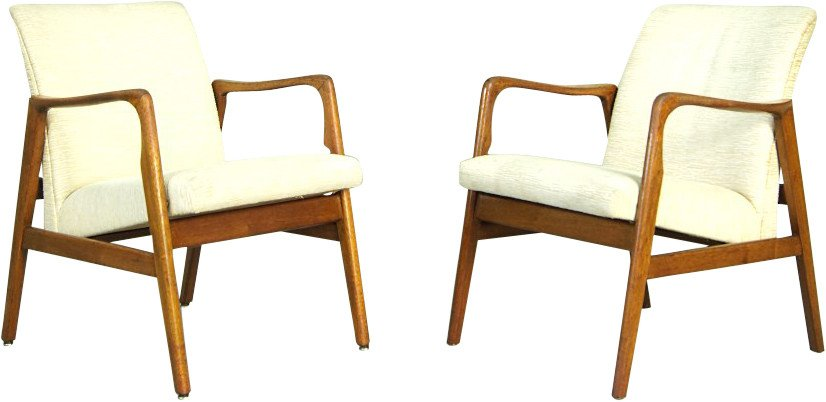 Pair of Armchairs, Denmark, 1960s