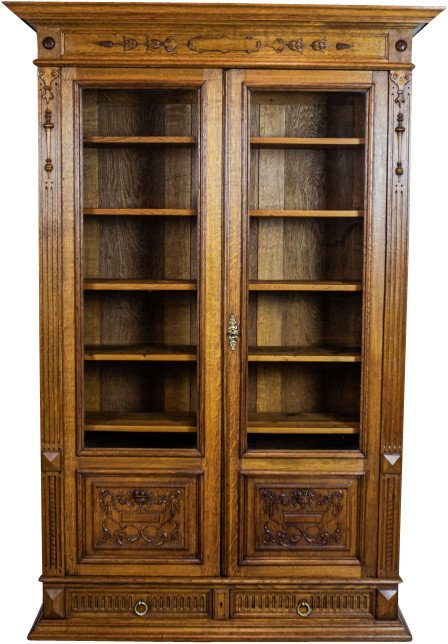Bookcase, end of 19th C.