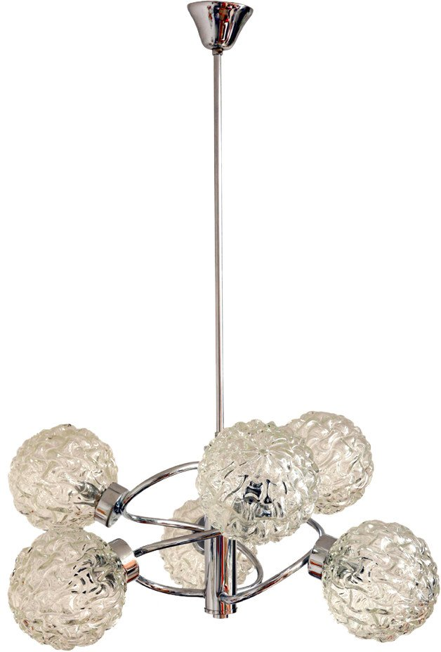 Chandelier by R. Essig, Germany, 1960s