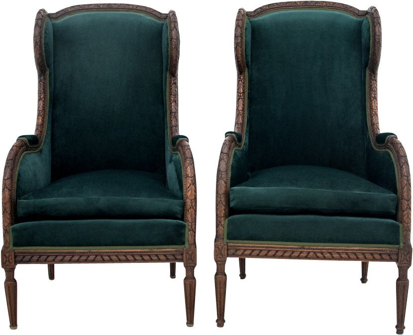Pair of Armchairs, 2nd half of 19th C.