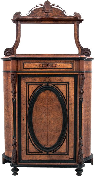 Cabinet, end of 19th C.