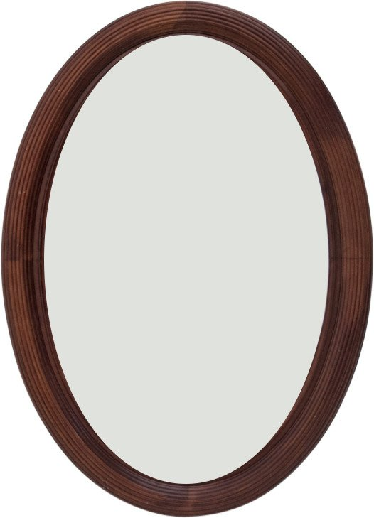 Mahogany Mirror, early 20th C.