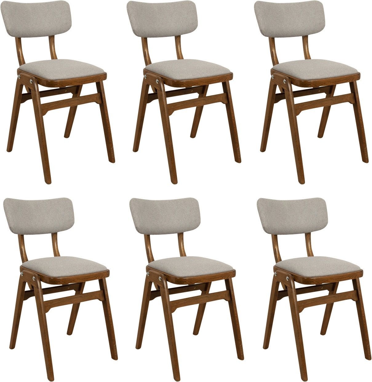 Set of Six Chairs, Great Britain, 1960s