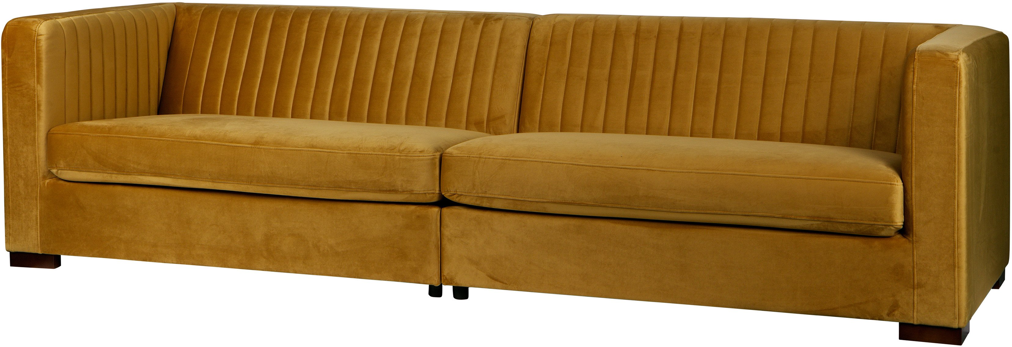 Sofa Nouveau musztardowa XL, Be Pure