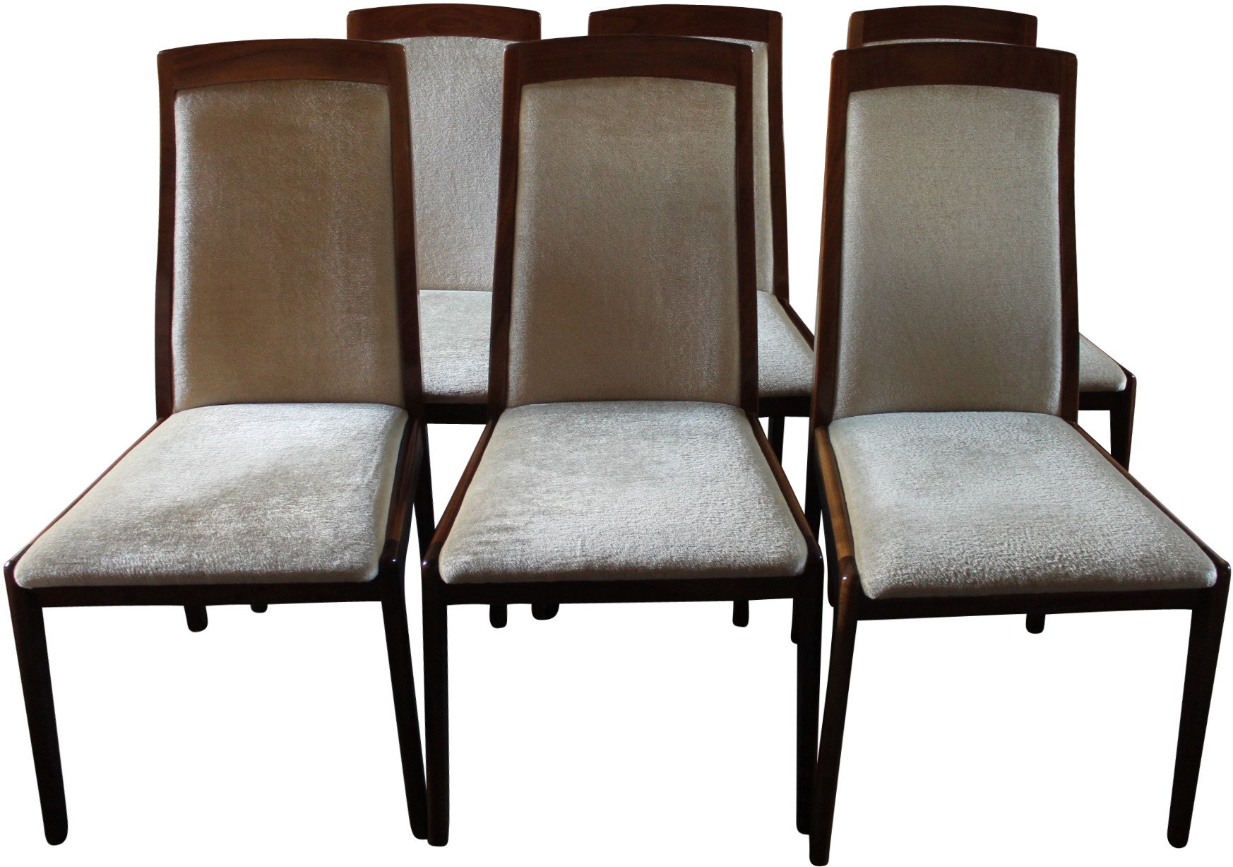 Set of Six Chairs, 1970s