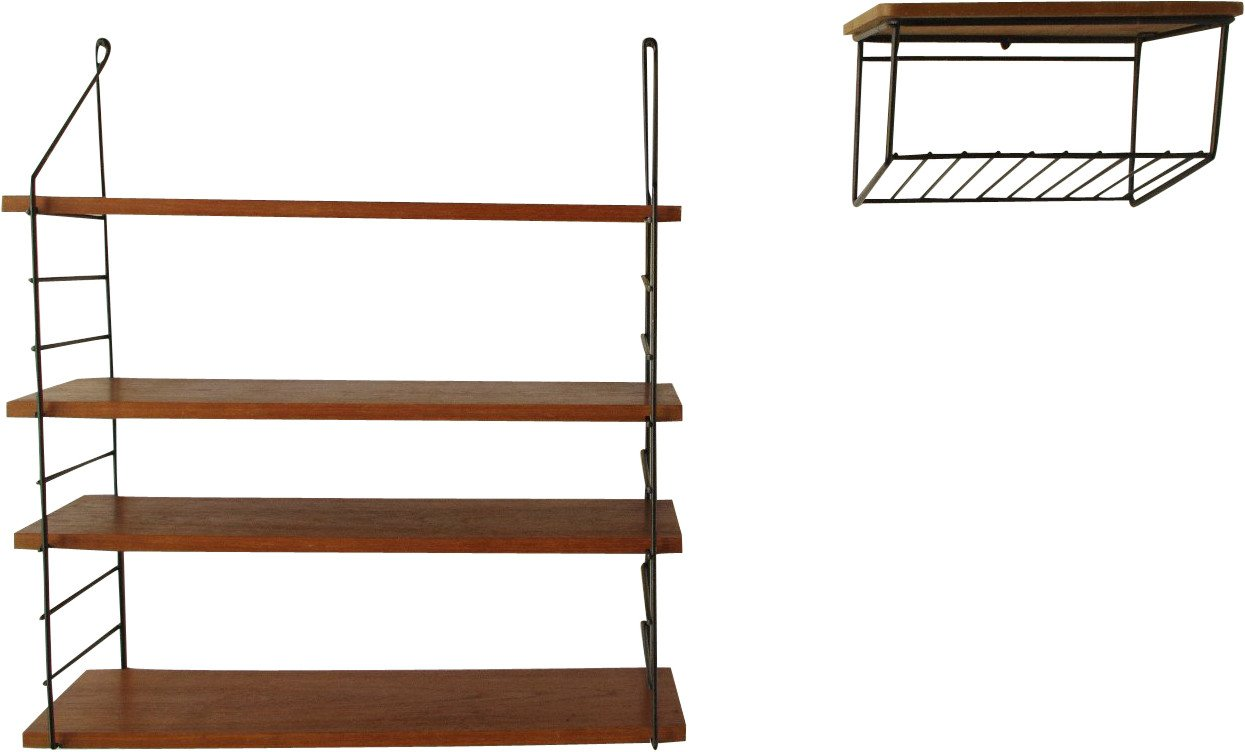 Pair of Modular Shelves, 1960