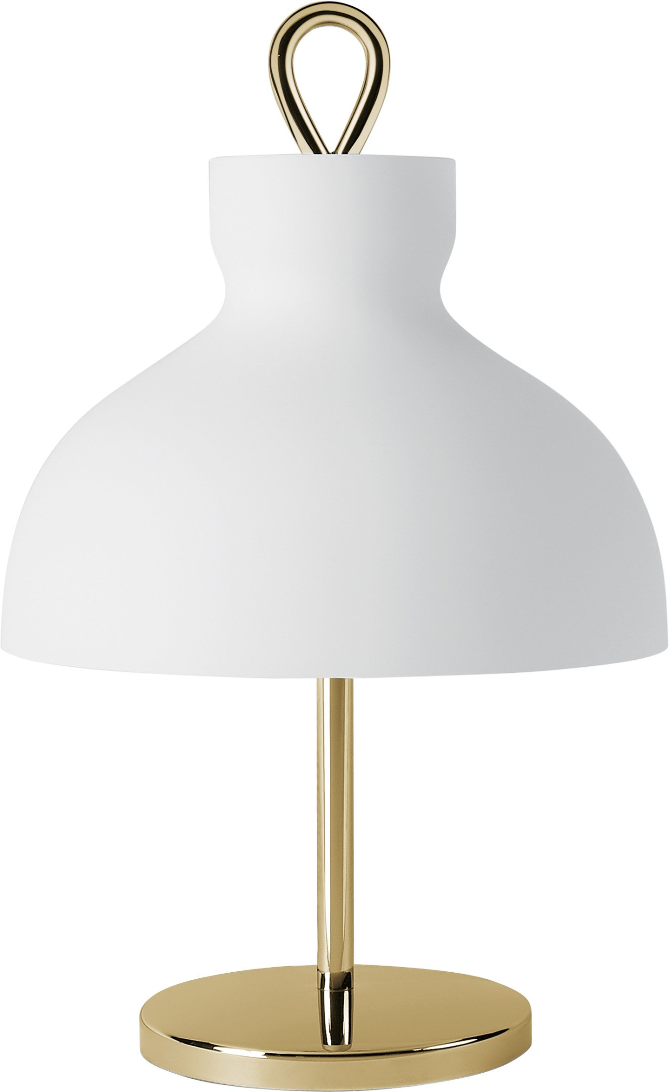 Small Brass Arenzano Table Lamp by I. Gardella for Tato Italia