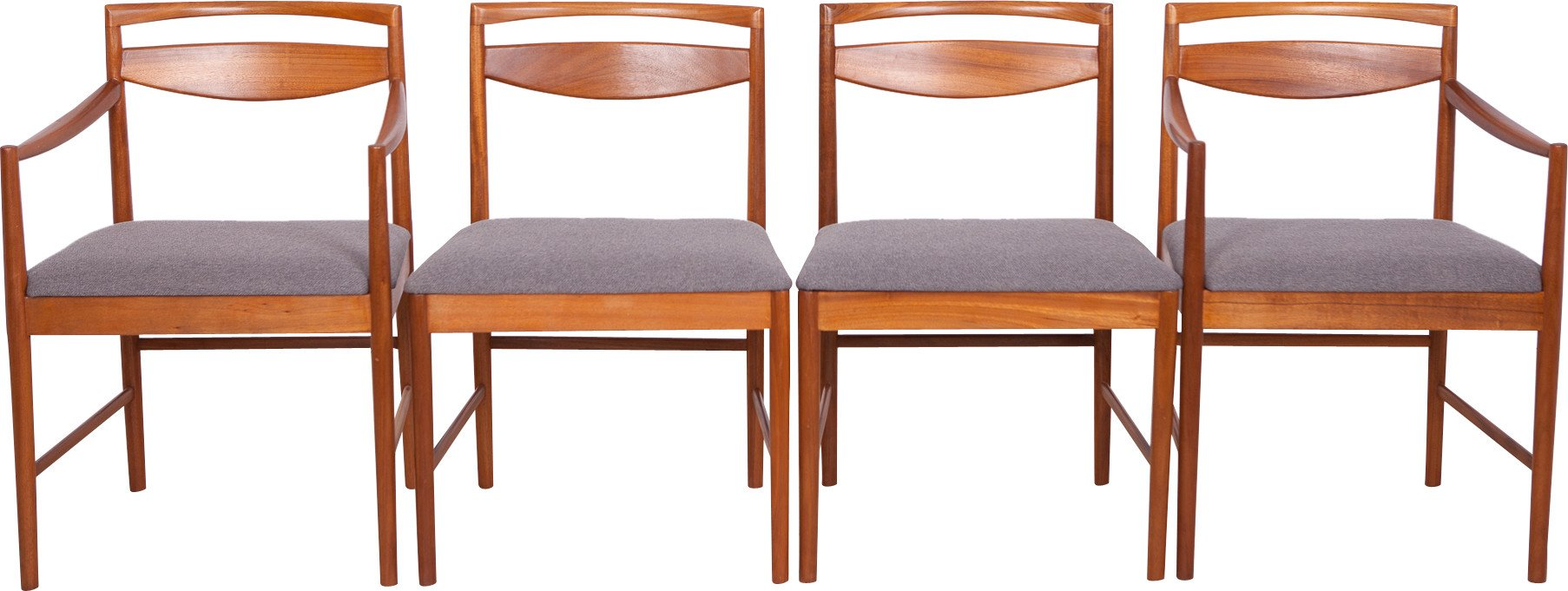 Set of Four Chairs by T. Robertson, McIntosh, Great Britain, 1970s