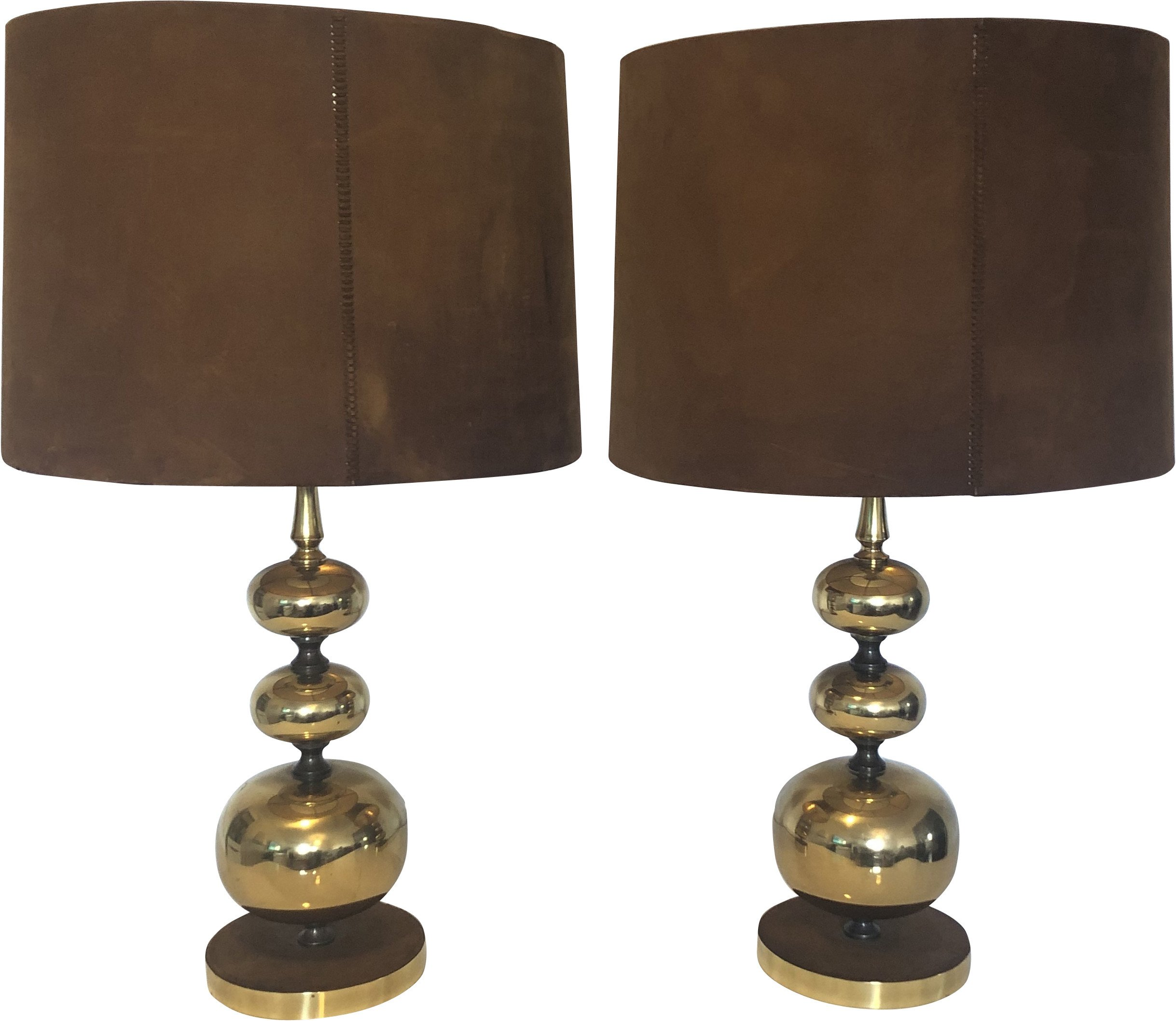 Pair of Table Lamps, Germany, 1960s