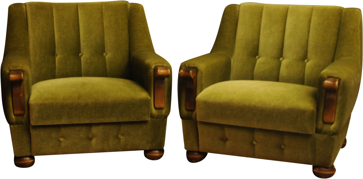 Pair of Chairs, Denmark, 1960s