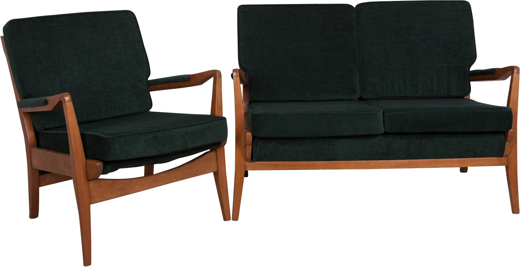 Set of Sofa and Armchair, Cintique, Great Britain, 1960s