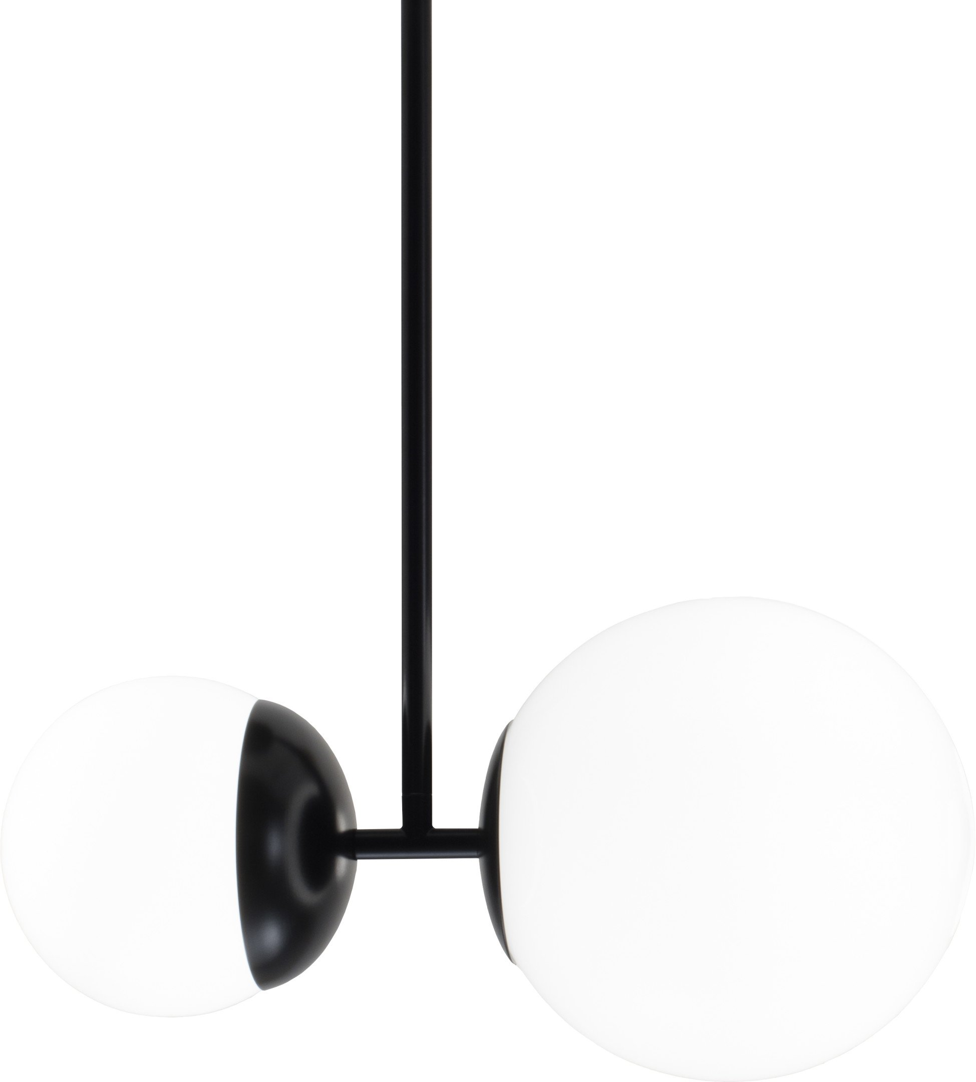 Black 100 Biba Ceiling Lamp by L. Bozzoli for Tato Italia