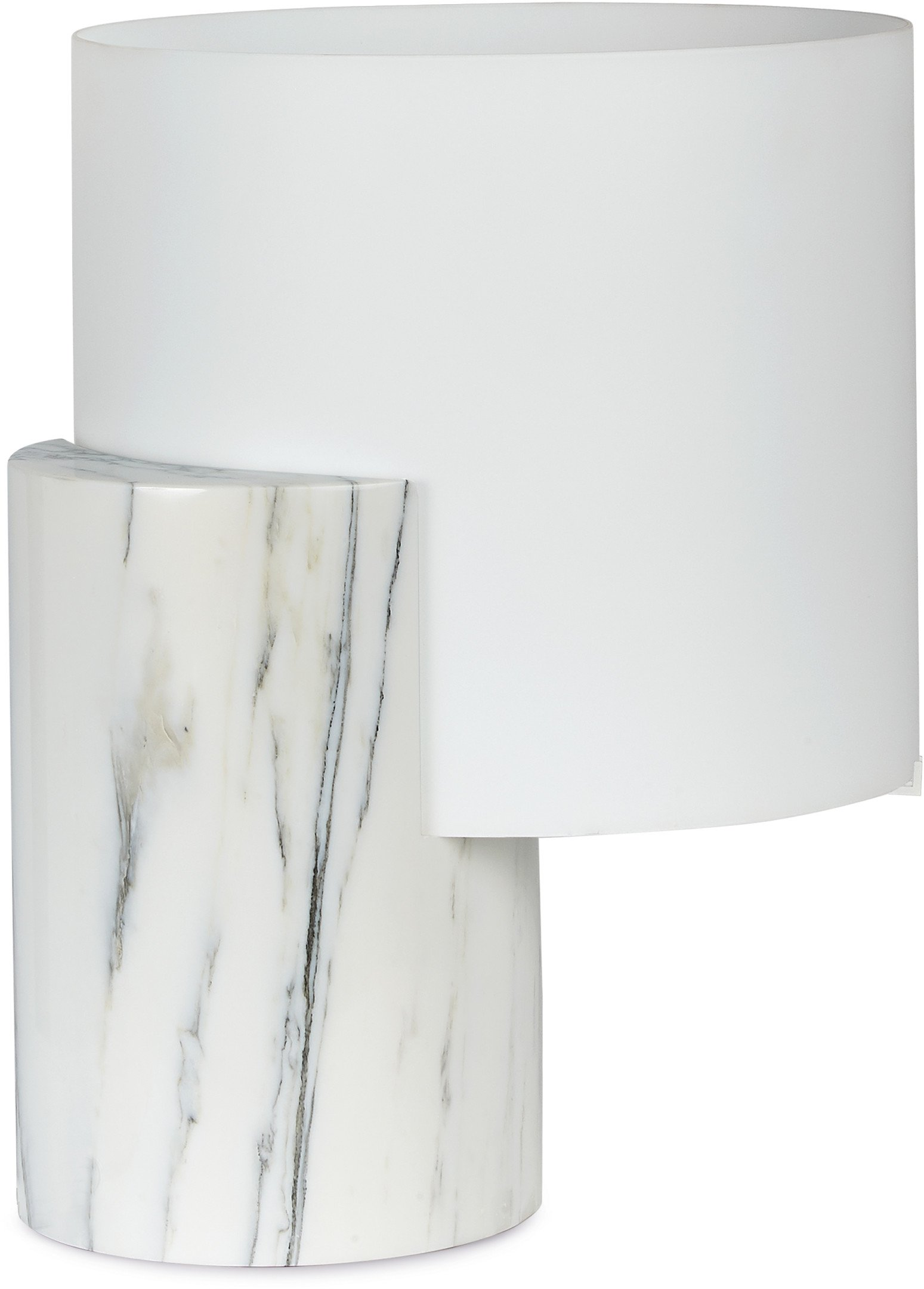 Carrara Marble Lea Table Lamp by M. Nunziati for Tato Italia
